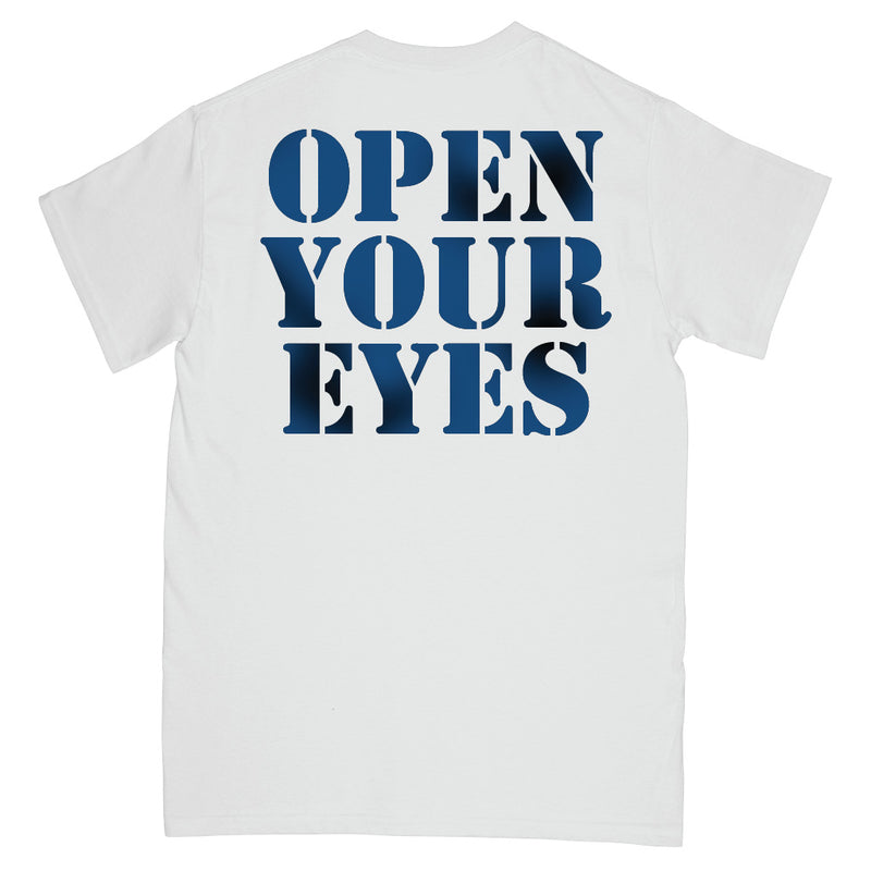 "REVSS173 Warzone ""Open Your Eyes (Poster Art)"" - T-Shirt Front"