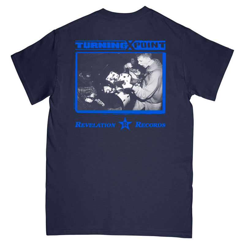 "Turning Point ""Demo (Navy)"" - T-Shirt"