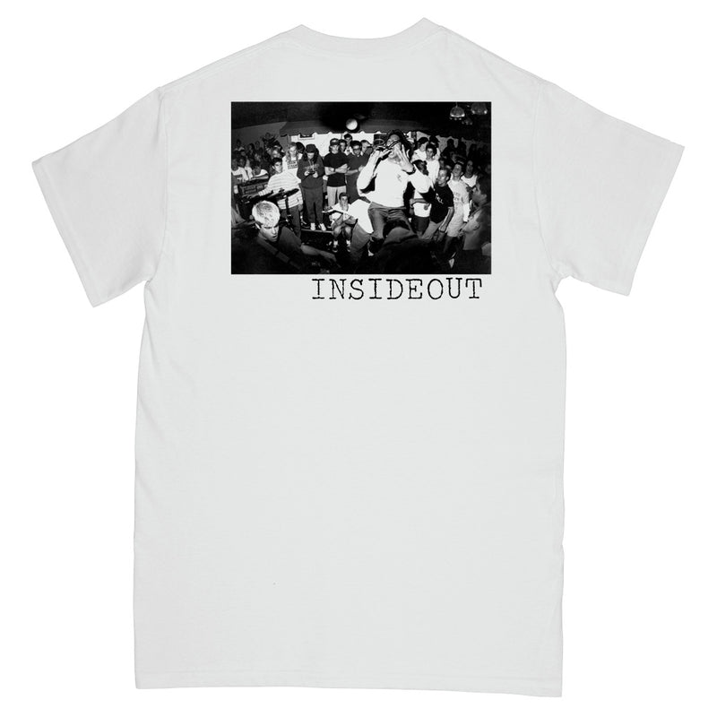 "REVSS19S Inside Out ""Logo (White)"" -  T-Shirt Front"