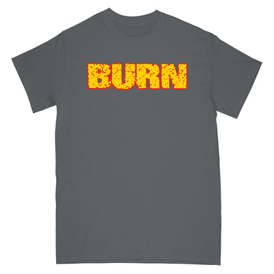 "REVSS22S Burn ""Shall Be Judged (Grey)"" -  T-Shirt Front"