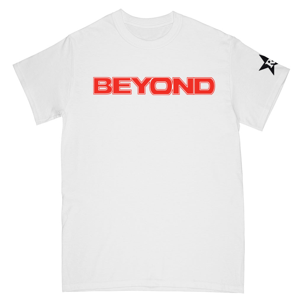 "REVSS56S Beyond ""Seeing Through"" -  T-Shirt Front"
