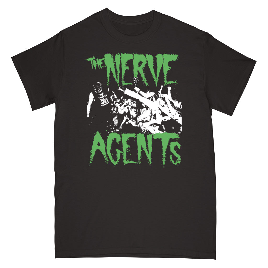 "REVSS73S The Nerve Agents ""Live Photo (Black)"" - T-Shirt Front"