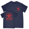 "REVSS916A Revelation Records ""Logo 2020 (Blue)"" - T-Shirt"