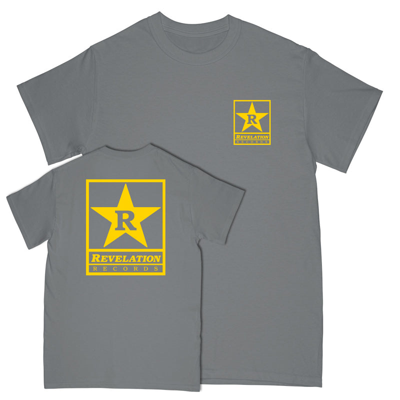 "Revelation Records ""Logo 2020 (Grey)"" - T-Shirt"