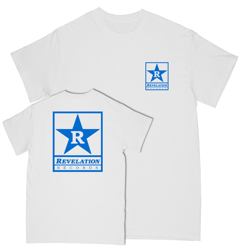 "REVSS916C Revelation Records ""Logo 2020 (White)"" - T-Shirt"