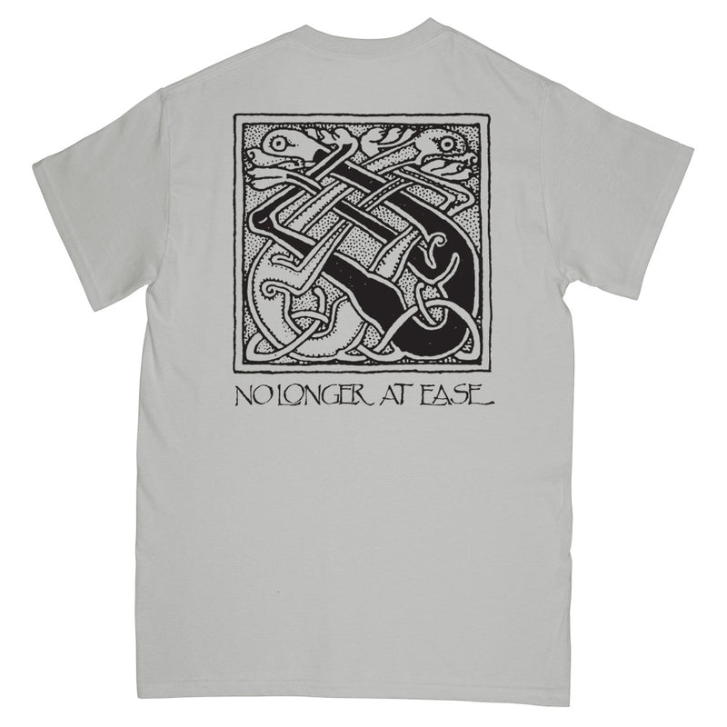 "REVSS964S Beyond ""No Longer At Ease (Grey)"" -  T-Shirt Front"