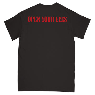 "REVSS973A Warzone ""Open Your Eyes (Black)"" - T-Shirt Back"