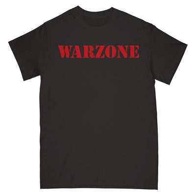 "REVSS973A Warzone ""Open Your Eyes (Black)"" - T-Shirt Front"