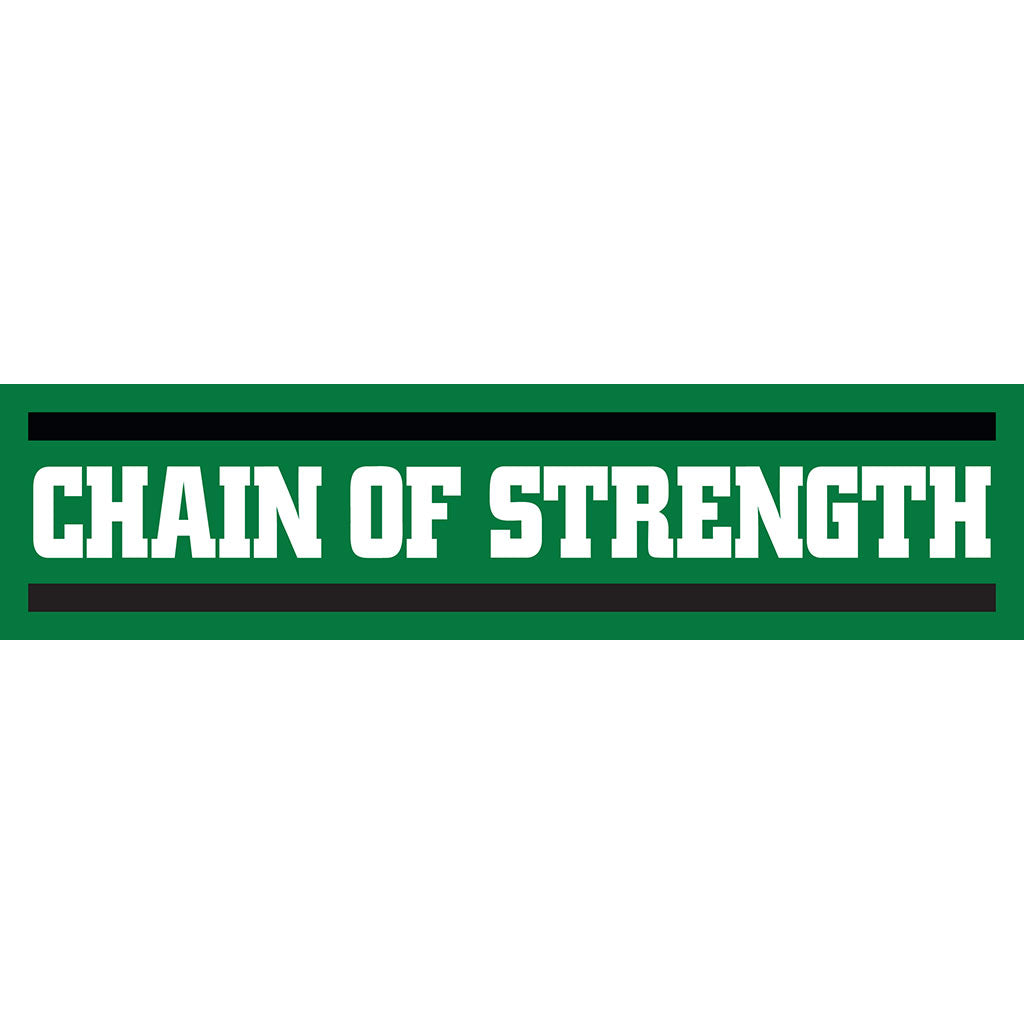 "Chain Of Strength ""Logo (Long)"" -  Sticker"
