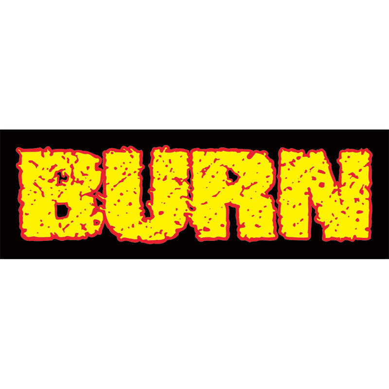 "Burn ""Logo"" - Sticker"