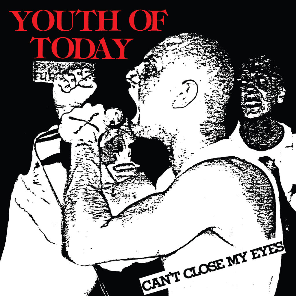 "Youth Of Today ""Can't Close My Eyes"" - Sticker"