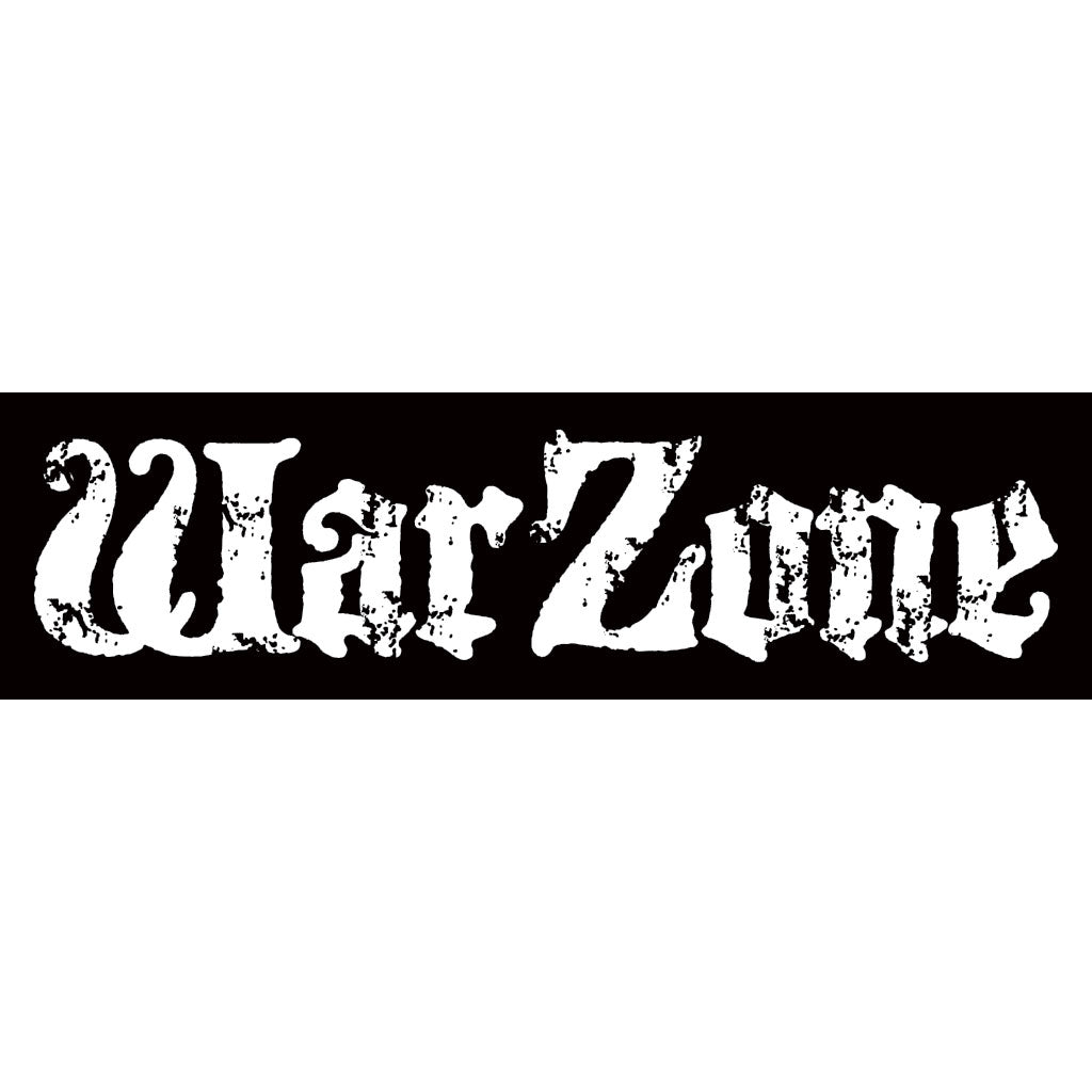 "Warzone ""Logo (Don't Forget The Struggle...)"" - Sticker"