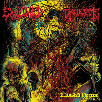 "Exhumed / Gruesome ""Twisted Horror (Split)"""