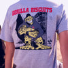 "REVSS03AS Gorilla Biscuits ""Hold Your Ground (Grey)"" -  T-Shirt Back Model"