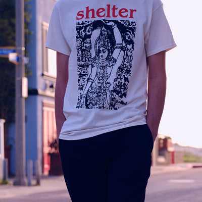"REVSS66 Shelter ""Logo"" - T-Shirt Model"