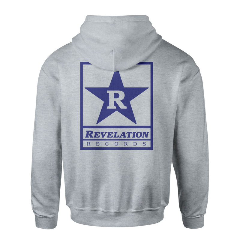 "Revelation Records ""Logo (Grey)"" - Hooded Sweatshirt"