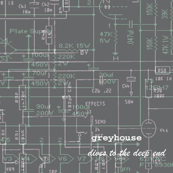 "Greyhouse ""Dives To The Deep End (Color Vinyl)"""