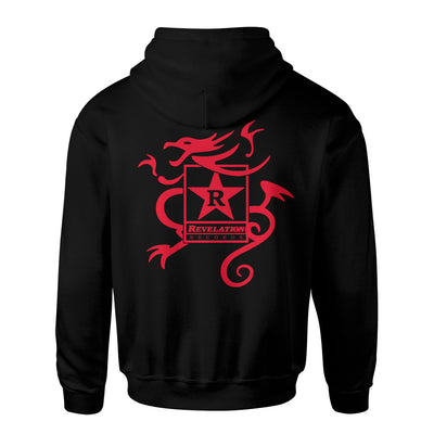 "SOIAHS03 Sick Of It All ""Logo"" -  Hooded Sweatshirt Back"