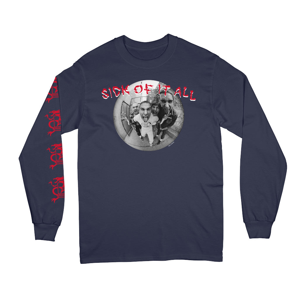"Sick Of It All ""Sick Of It All x BJ Papas"" - Long Sleeve"