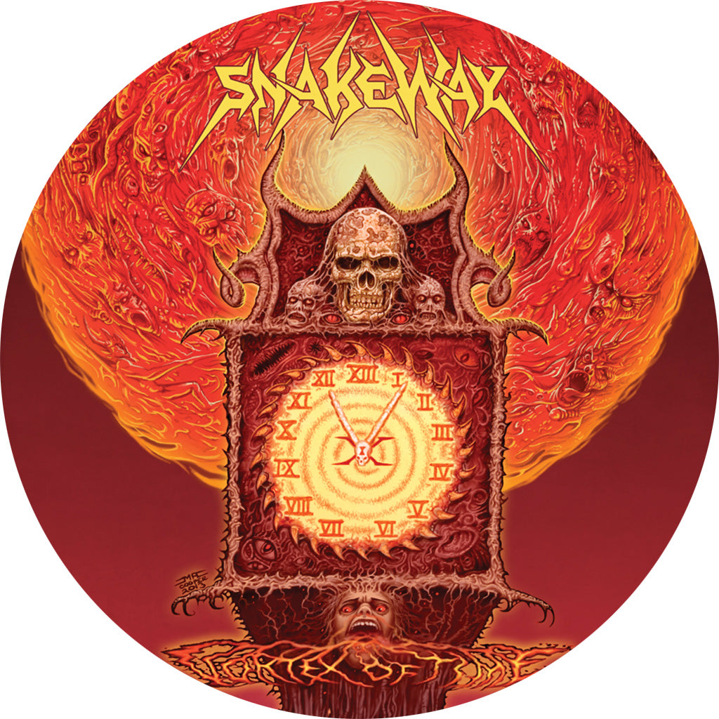 "TF057-1 SnakeWay ""Vortex Of Time"" 10"" - Picture Disc Album Artwork"