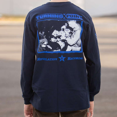 "Turning Point ""Demo (Navy)"" - Long Sleeve T-Shirt"