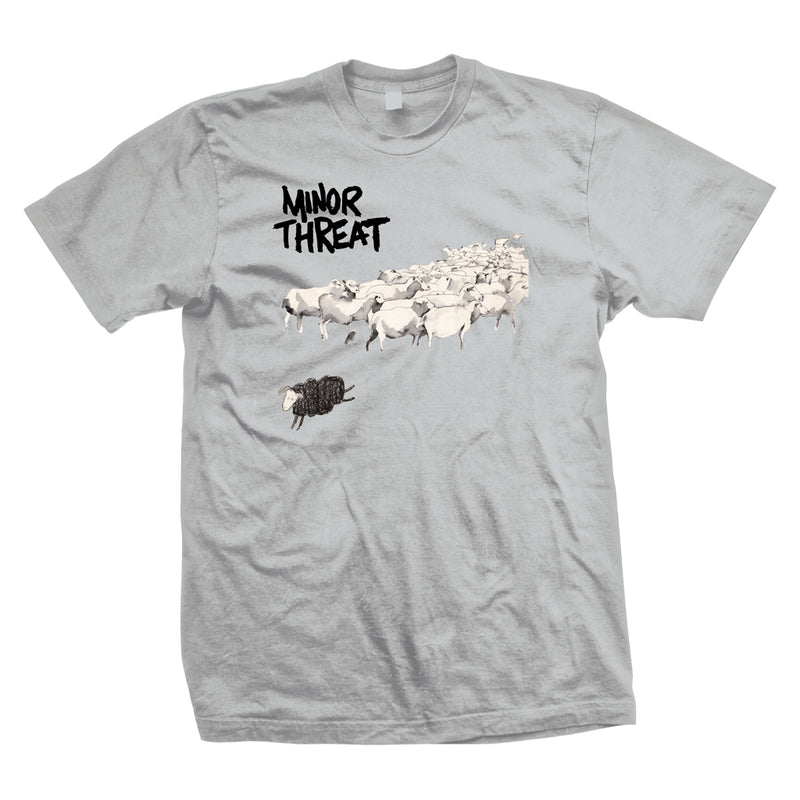 "Minor Threat ""Out Of Step (Grey)"" - T-Shirt"
