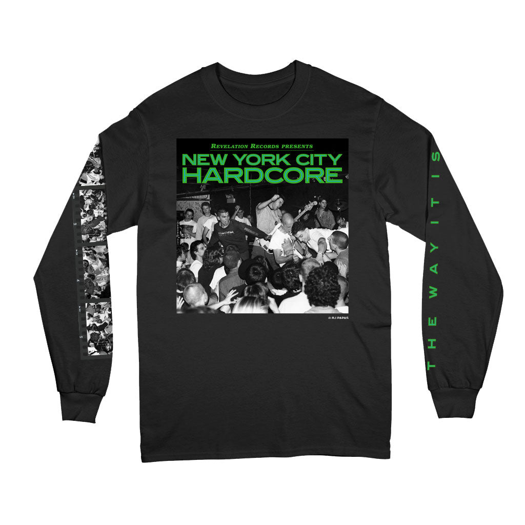 "V/A ""New York City Hardcore: The Way It Is (Black)"" - Long Sleeve T-Shirt"