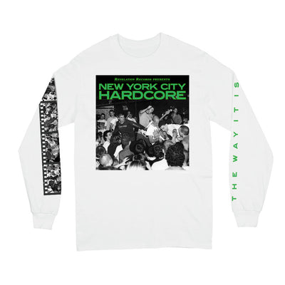 "V/A ""New York City Hardcore: The Way It Is (White)"" - Long Sleeve"