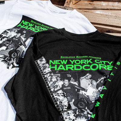 "V/A ""New York City Hardcore: The Way It Is (White)"" - Long Sleeve T-Shirt"