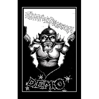 "WAR017-4 Exhibition ""Demo"" Cassette Album Artwork"