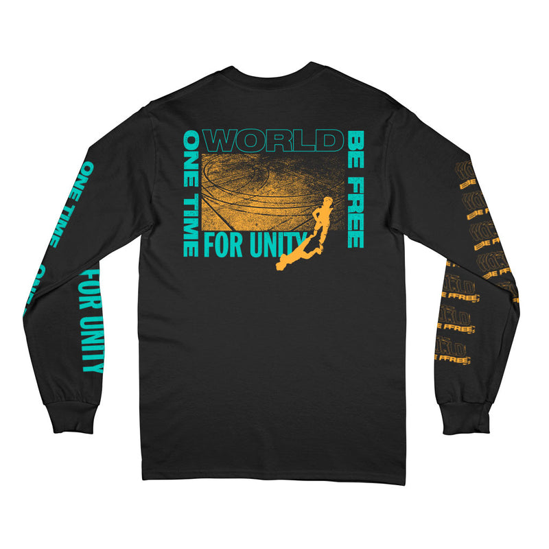 "World Be Free ""One Time For Unity"" - Long Sleeve T-Shirt"
