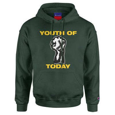 "Youth Of Today ""Positive Outlook (Champion Brand)"" - Hooded Sweatshirt"