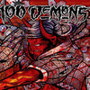 "DWI35-1 100 Demons ""s/t"" LP  Album Artwork"
