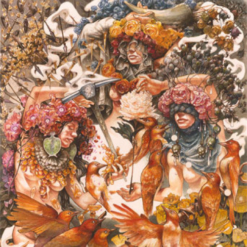 "ABH087-1/4 Baroness ""Gold & Grey"" 2xLP/Cassette Album Artwork"