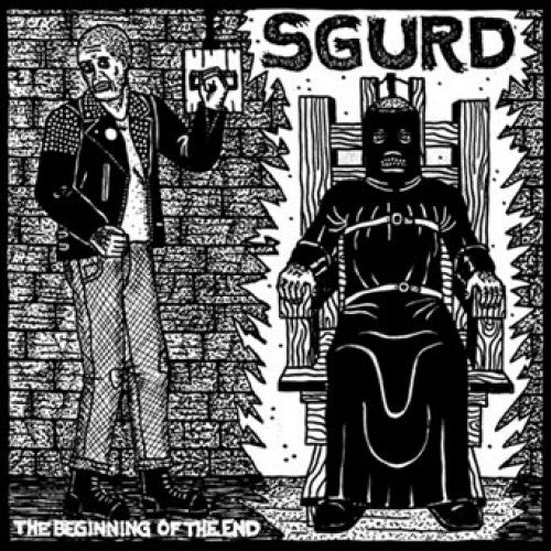 "ADAG109-1 Sgurd ""The Beginning Of The End"" 7"" - Import Album Artwork"