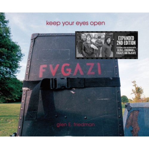 "AKB536-B Glen E. Friedman ""Keep Your Eyes Open: The Fugazi Photographs Of Glen E. Friedman: Second Edition"" -  Book"