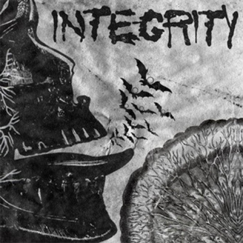 "ATHR129-1 Integrity ""Suicide Black Snake"" LP Album Artwork"