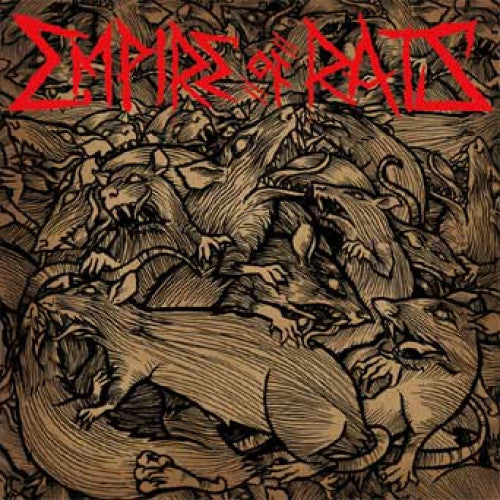 "ATHR130-1 Empire Of Rats ""s/t"" LP Album Artwork"