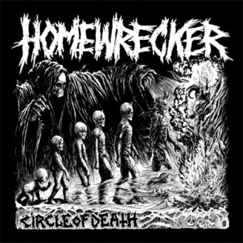 "ATHR148-2 Homewrecker ""Circle Of Death"" CD Album Artwork"