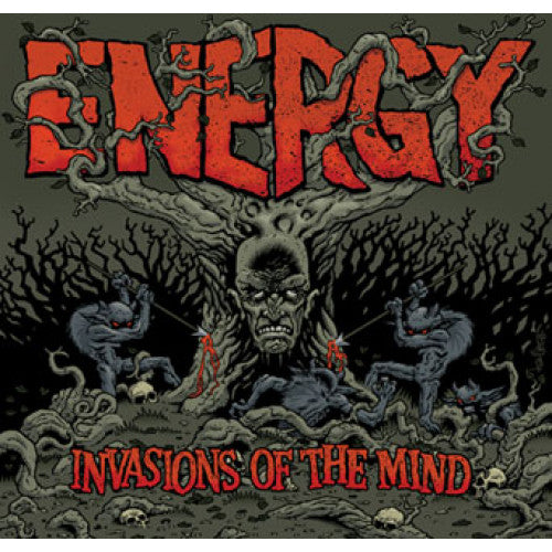 "B9R101-1/2 Energy ""Invasions Of The Mind"" LP/CD Album Artwork"