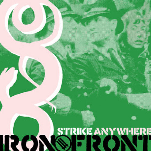 "B9R126-2 Strike Anywhere ""Iron Front"" CD Album Artwork"