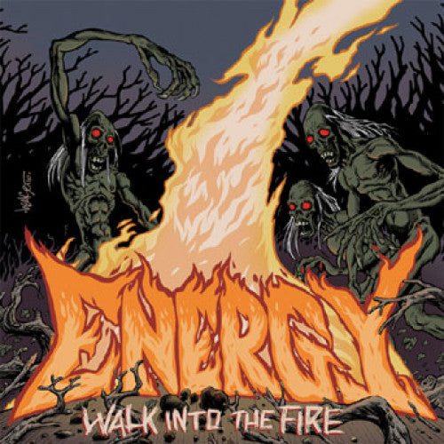 "B9R138-1 Energy ""Walk Into The Fire"" 7"" Album Artwork"