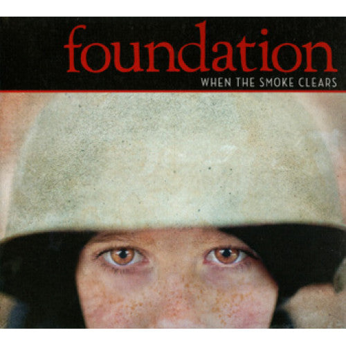 "B9R147-2 Foundation ""When The Smoke Clears"" CD Album Artwork"