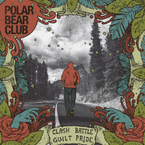 "B9R153 Polar Bear Club ""Clash Battle Guilt Pride"" LP/CD Album Artwork"