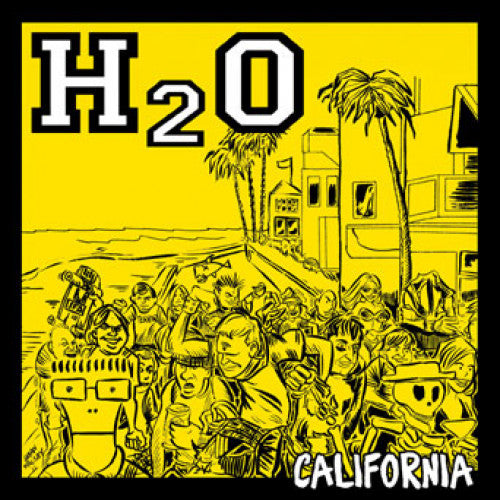 "B9R154-1 H2O ""California"" 7"" Album Artwork"