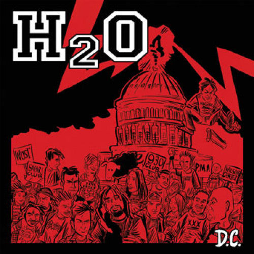 "B9R156-1 H2O ""D.C."" 7"" Album Artwork"