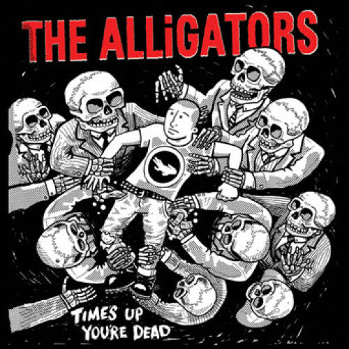"B9R161 The Alligators ""Time's Up, You're Dead"" CD Album Artwork"