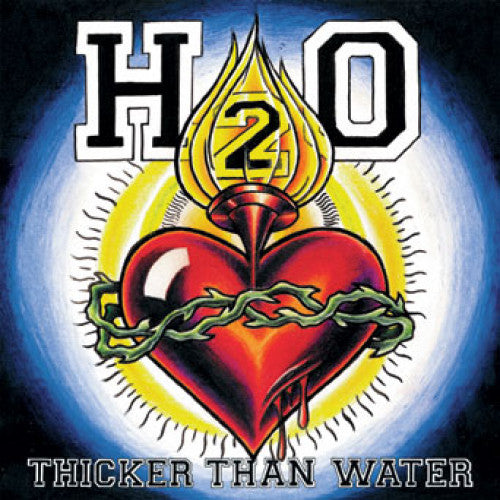 "B9R179-1 H2O ""Thicker Than Water"" LP Album Artwork"