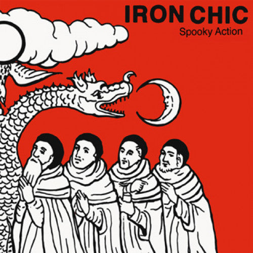 "B9R194-1 Iron Chic ""Spooky Action"" 7"" Album Artwork"