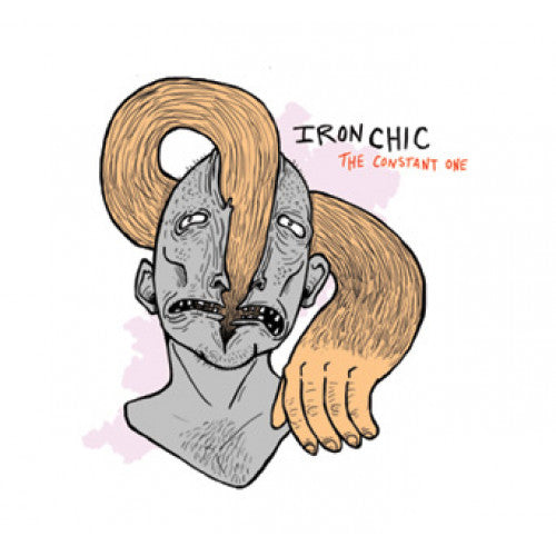 "B9R201 Iron Chic ""The Constant One"" LP/CD Album Artwork"